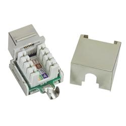 WPIN-45110S6S: Cat6 RJ45 jack 110 style Shielded Punch-down Keystone