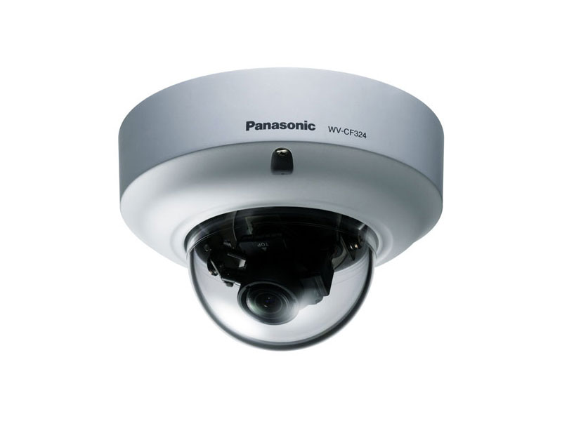 WV-CF324: Metal Body Day/Night Fixed Dome Camera