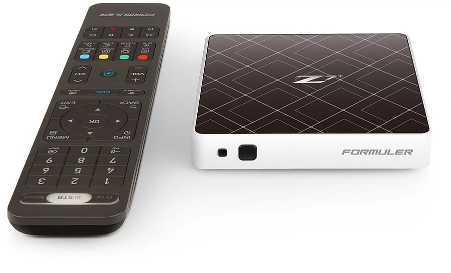 Formuler Z7+: Premium UHD IPTV set top box with Android 7 Nougat