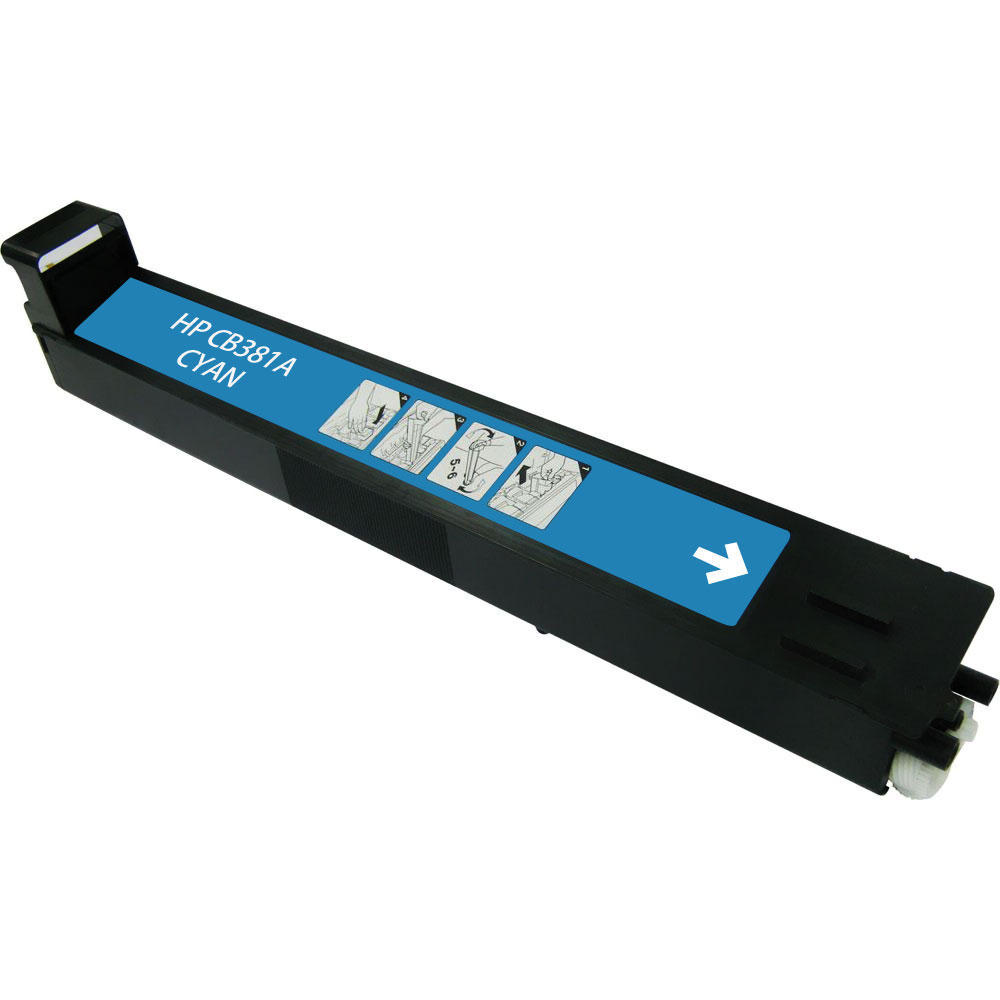 HP CB381A: HP Remanufactured Toner Cartridge Cyan