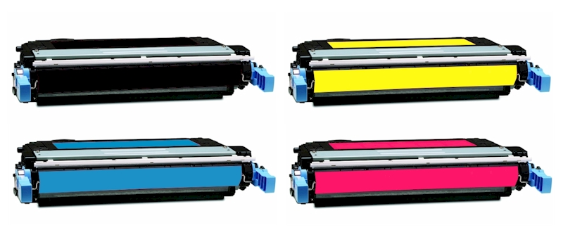 HP CB400A/CB401A/CB402A/CB403A: Remanufactured TONER CARTRIDGE BLACK/CYAN/YELLOW/MAGENTA