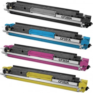 HP CF350A/CF351A/CF352A/CF353A: New Compatible TONER CARTRIDGE BLACK/CYAN/YELLOW/MAGENTA